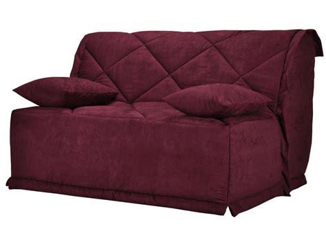 canapé bz 160 housse pour bz 160 cm julie coloris prune vente de