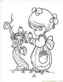 Precious Moments Coloring Pages To Print Az Coloring Pages