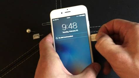 iphone      insert eject sim card youtube