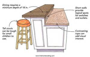 kitchen island height kitchen two teired countertop tier islands advantages and disadvantages a