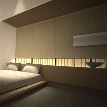 modern japanese bedroom modern japanese bedroom 3d model 12593 | modern japanese bedroom 3d model 92381