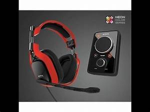 Neon red Astro A40 review and mic test