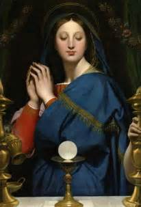 Risultato immagine per maria eucaristia