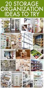 20, Storage, Organization, Ideas