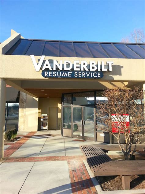 Vanderbilt Resume Service by Vanderbilt Knoxville Office Outside Sign Resume Writing Services Knoxville Tn Vanderbilt