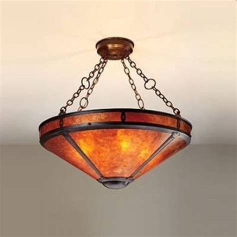 Mica Chandelier by Mica L Company Mission Chandeliers Coppersmith Collection