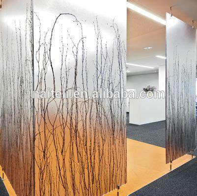 naiteli translucent eco resin luxury partition wall