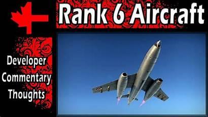 War Thunder Rank Aircraft