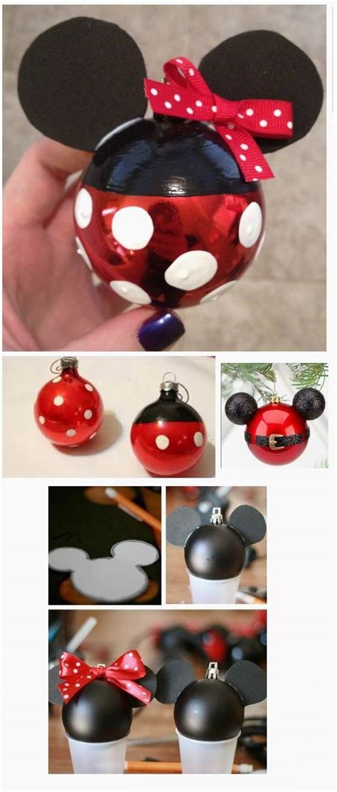 minnie  mickey mouse christmas ornament  mas