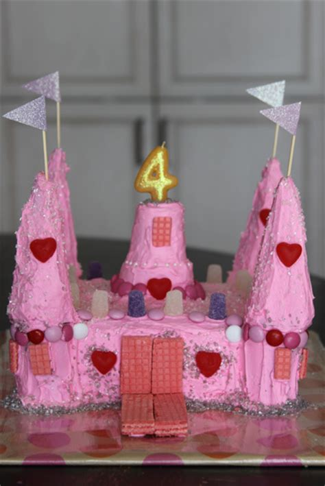 princess castle birthday cake  cake mix  ice cream
