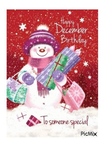 December Happy Gifs Birthday Quotes