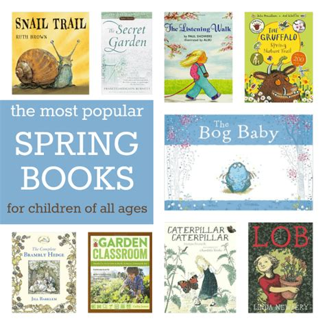 the most popular books for children of all ages 516 | most popular spring books for children