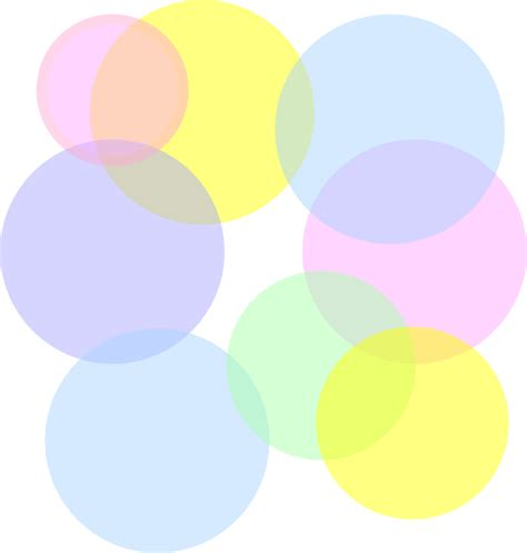 Small Disco Ball Decorations by Pastel Colored Bubbles Clip Art At Clker Com Vector Clip