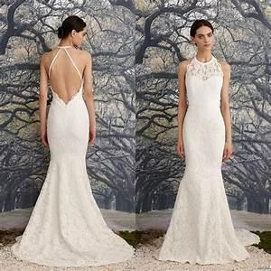 35 fantastic ideas of mermaid wedding dresses you wont be With halter neck wedding dress