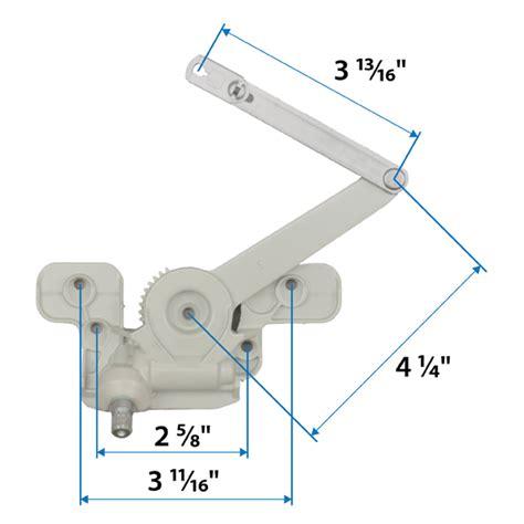 casement split arm operator  andersen windows doors