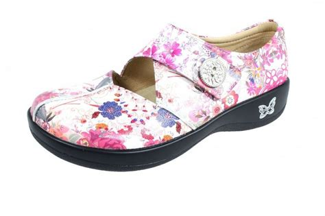 Flower Alegria Nursing Shoes
