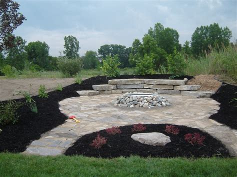 25 best images about rock patio pit ideas on