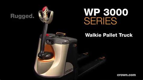 Crown Wp 3000 Electric Pallet Jack