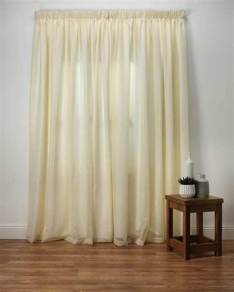 Voile Curtains by Wisteria Lined Voile Curtains