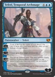 teferi temporal archmage from commander 2014 spoiler
