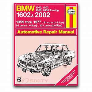 Bmw 2002tii Haynes Repair Manual Base Shop Service Garage