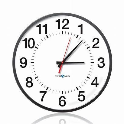 Clock Analog Clipart Analogue Clip Clocks Wall