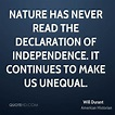 Will Durant Nature Quotes | QuoteHD