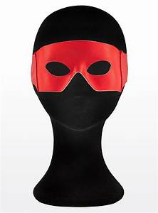 Superhero Mask red - maskworld com