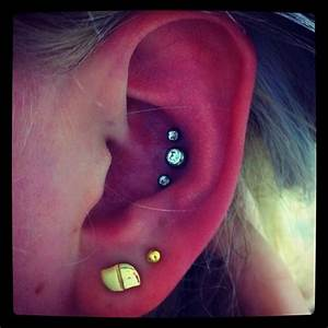 Triple Conch | Piercing | Pinterest | I will, Military and ...