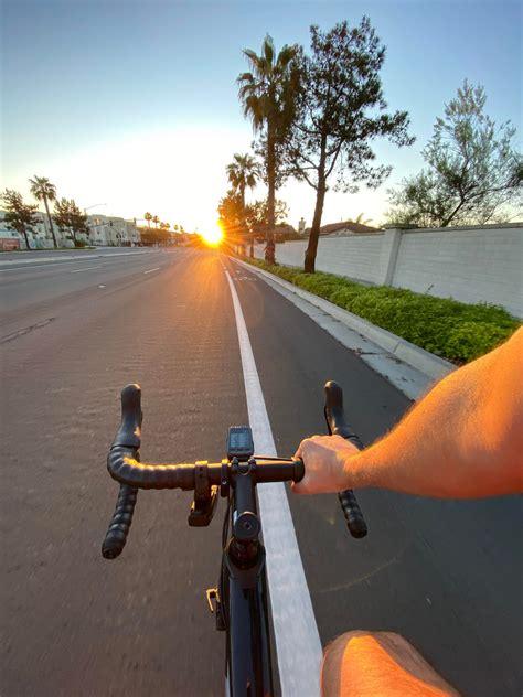Solo ride. Chula Vista , CA. : bicycling