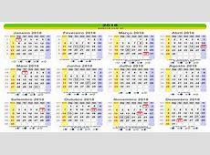Calendario 2018 13 2019 2018 Calendar Printable with