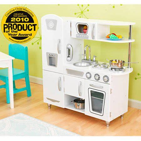 walmart play kitchen kidkraft vintage wooden play kitchen white walmart