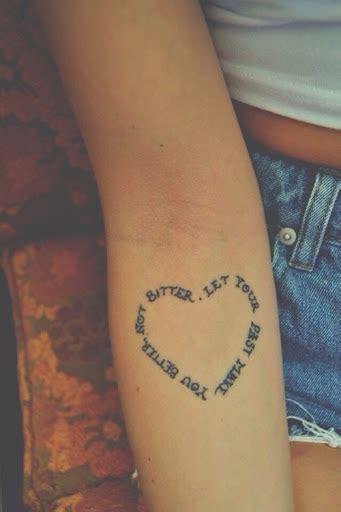 beautiful  fabulous heart tattoos  wow style