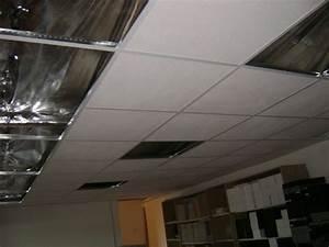 Plâtrerie, faux plafond suspendu en dalles, Domont (95) Ikououbel