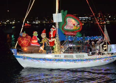 san diego boat parade of lights san diego weekend events friday december 11 to sunday