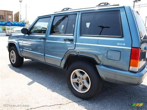 gunmetal blue jeep 1999 gunmetal pearl jeep cherokee classic 4x4 67566167