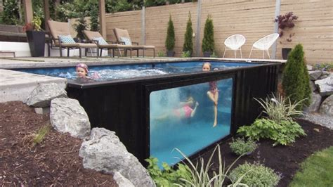 pools   shipping containers   big splash