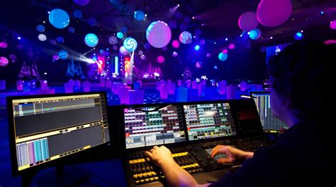 Lighting Technician by Event Technician Sound Lighting Installation