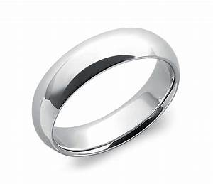 Comfort Fit Wedding Ring In Platinum 6mm Blue Nile