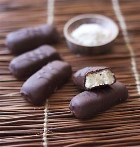Noix De Coco Recette : barre chocolat e la noix de coco fa on bounty maison ~ Dode.kayakingforconservation.com Idées de Décoration
