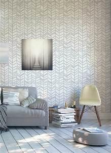 Papier Peint Moderne Salon : tapisserie moderne pour salon affordable papier peint tendance pour une dcoration moderne with ~ Melissatoandfro.com Idées de Décoration