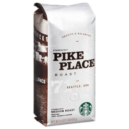 Starbucks® pike place roast coffee is named after the place where it all began back at pike place market in seattle in 1971. Pike Place Roast Coffee - Walmart.com