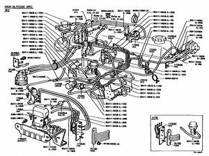 1980 Toyota Pickup Emission Diagram