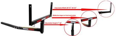 amazon com tms t ns hitch bed extender heavy duty pickup