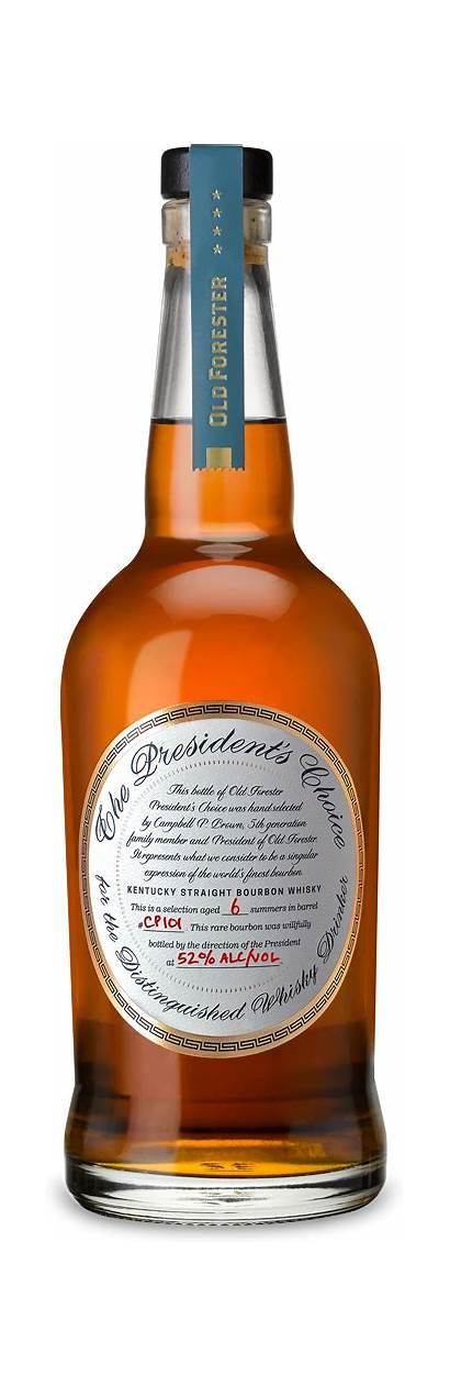 Choice Forester President Bourbon Presidents Distillery Proof