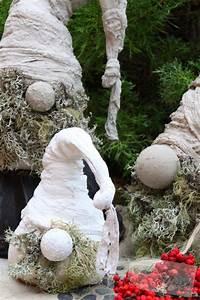 Wichtel Aus Tannengrün : wichtel aus beton diy weihnachtsdekoration wichtel aus beton diy weihnachten pinterest ~ Whattoseeinmadrid.com Haus und Dekorationen