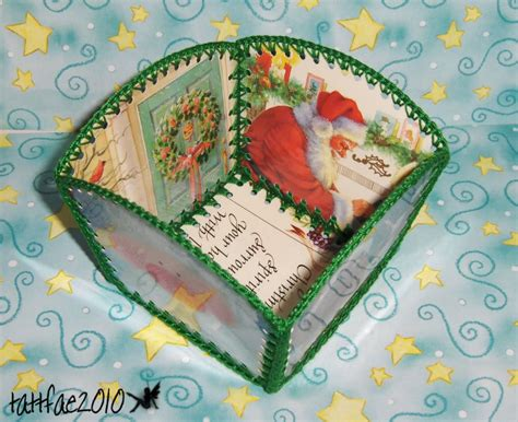 craft activities images on the occasion of christmas card baskets occasions and holidays cards recycled card basket