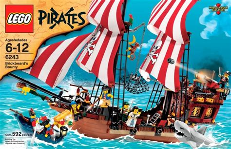 7 Great 'lego Pirates' Sets Sure To Shiver Your Timbers