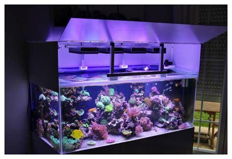 re eclairage aquarium recifal re led diy 300 litres et 190 litres le coin des bricoleurs