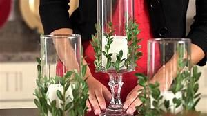 Dollar Tree Christmas Craft Idea- Vase with Greenery - YouTube